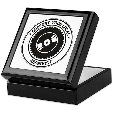 Support Archivist Keepsake Box
