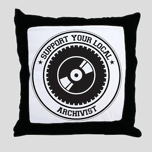 Support Archivist Throw Pillow