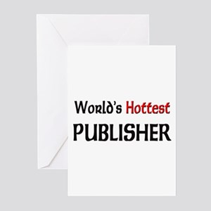 World's Hottest Publisher Greeting Cards (Pk of 10