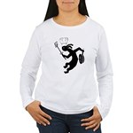 Kokopelli Cook Women's Long Sleeve T-Shirt