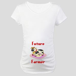 Future Farmer Maternity T-Shirt