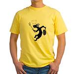 Kokopelli Cook Yellow T-Shirt