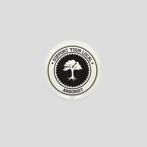 Support Arborist Mini Button