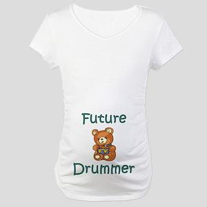 Future Drummer Maternity T-Shirt