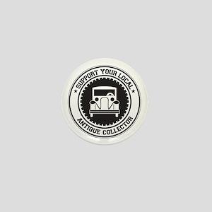 Support Antique Collector Mini Button