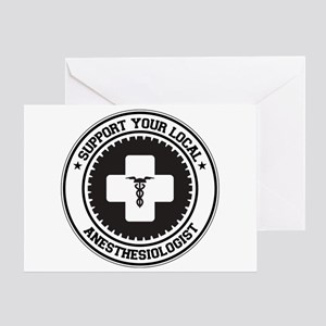 Support Anesthesiologist Greeting Card
