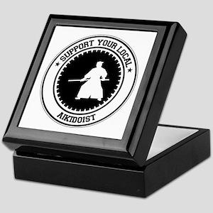 Support Aikidoist Keepsake Box