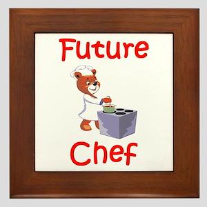 Future Chef Framed Tile