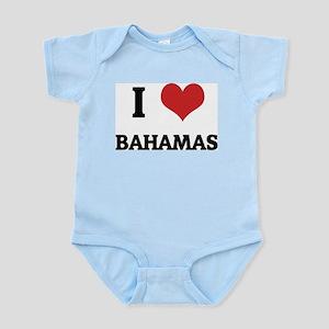 I Love Bahamas Infant Creeper