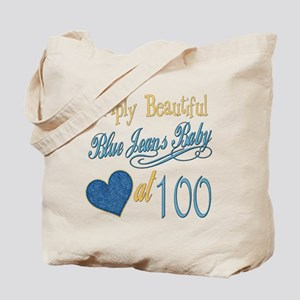 Blue Jeans 100th Tote Bag