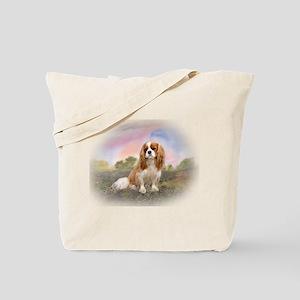 English Toy Spaniel portrait Tote Bag