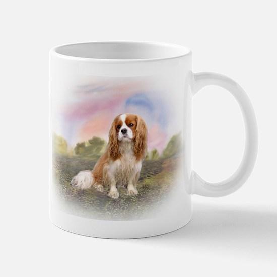 English Toy Spaniel portrait Mug