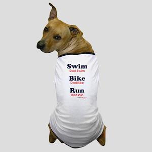Triathlon Dad Dog T-Shirt