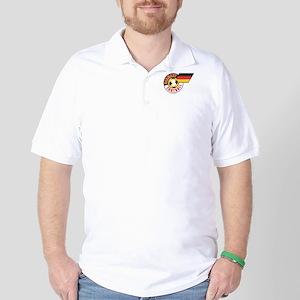 German Football Flag Golf Shirt