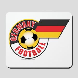 German Football Flag Mousepad
