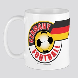 German Football Flag Mug