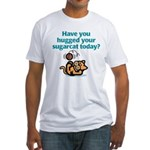 Sugarcat Hug Fitted T-Shirt