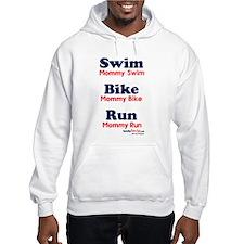 Triathlon Mommy Hooded Sweatshirt