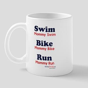 Triathlon Mommy Mug