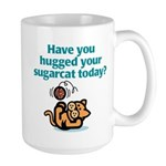 Sugarcat Hug Large Mug