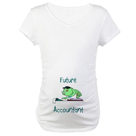 Future Accountant Maternity T-Shirt