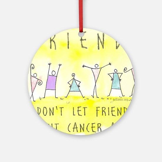 Cancer Friends Ornament (Round)