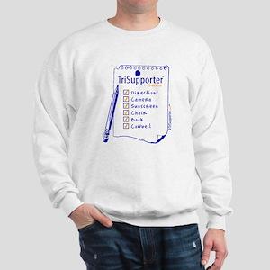 TriSupporter Checklist Sweatshirt