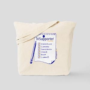 TriSupporter Checklist Tote Bag