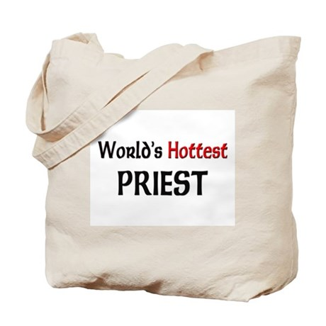 World's Hottest Priest Tote Bag