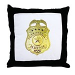 Private Detective Throw Pillow