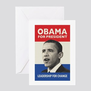 Obama JFK '60-Style Greeting Card
