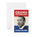 Obama JFK '60-Style Greeting Cards (Pk of 10)