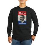 Obama JFK '60-Style Long Sleeve Dark T-Shirt