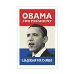 Obama JFK '60-Style Mini Poster Print