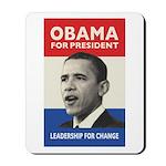 Obama JFK '60-Style Mousepad
