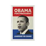Obama JFK '60-Style Rectangle Magnet