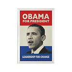 Obama JFK '60-Style Rectangle Magnet (10 pack)