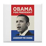 Obama JFK '60-Style Tile Coaster
