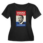 Obama JFK '60-Style Women's Plus Size Scoop Neck D