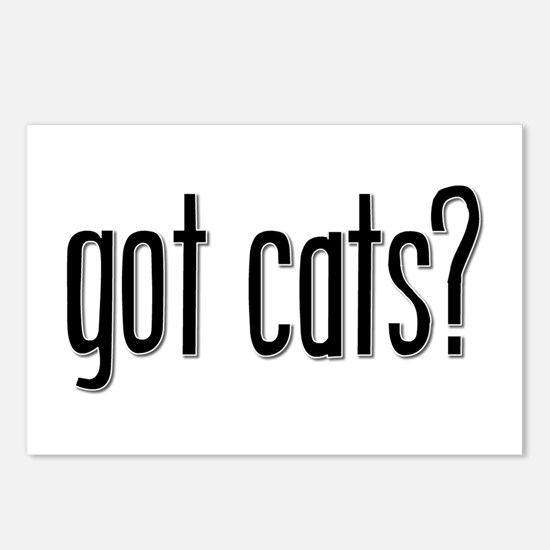 Got Cats? Postcards (Package of 8)