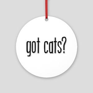 Got Cats? Keepsake (Round)