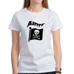 Pirate Flag- Jolly Roger Women's T-Shirt