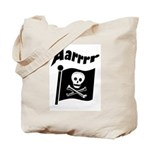 Pirate Flag- Jolly Roger Tote Bag