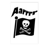 Pirate Flag- Jolly Roger Postcards (Package of 8)