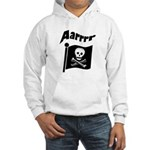 Pirate Flag- Jolly Roger Hooded Sweatshirt