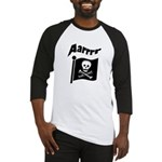 Pirate Flag- Jolly Roger Baseball Jersey