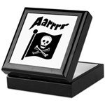 Pirate Flag- Jolly Roger Keepsake Box