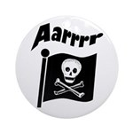 Pirate Flag- Jolly Roger Keepsake (Round)
