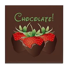 Chocolate Lovers Tile Coaster