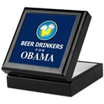 Beer Drinkers Obama Keepsake Box